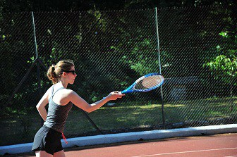 TennisPlayer at Hotel Bois dAmont in The South of France