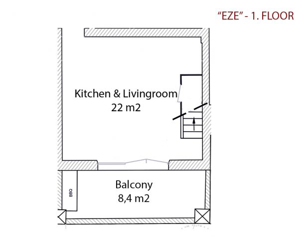 Holiday-Apartment-Eze-Floorplan-1.-Floor