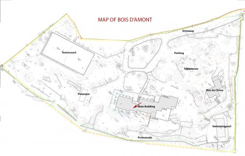 Holiday-Rental-Cannes-Map-of-the-park