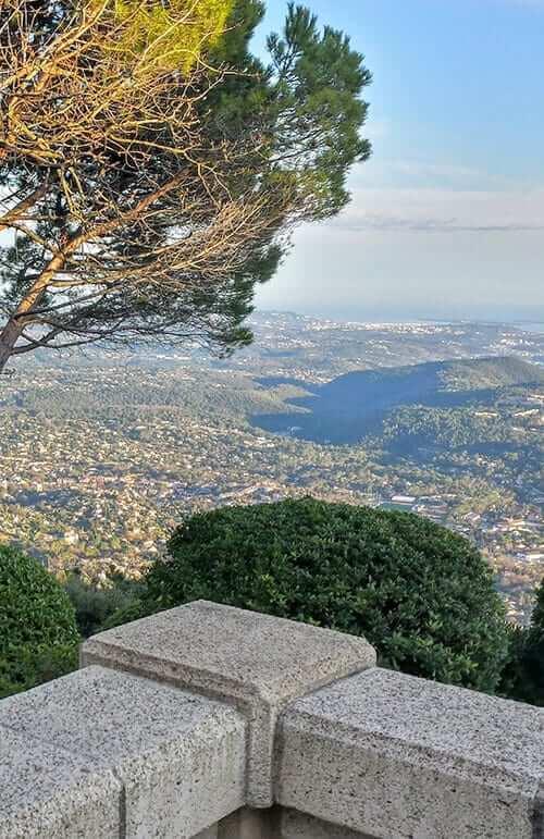 View from the terrace at La Veranda